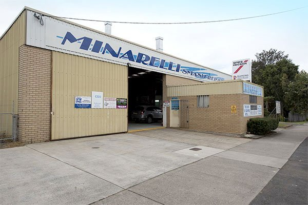 Minarelli smash repairs is Northern Rivers smash repairer of choice