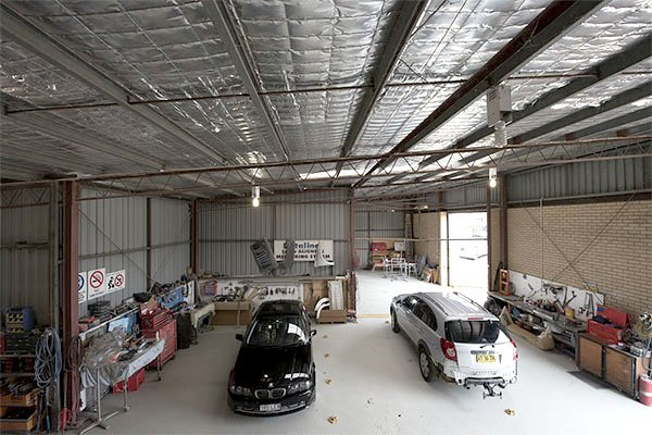 Minarelli smash repairs established factory in Lismore